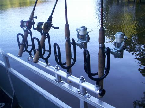 mounting rod holders on aluminum boat beaver creek rod holder company boat fishing rod holders