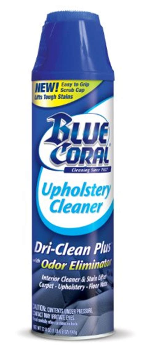 Blue Coral Dc22 Upholstery Cleaner blue coral dc22 upholstery cleaner dri clean plus with odor eliminator 22 8 oz aerosol