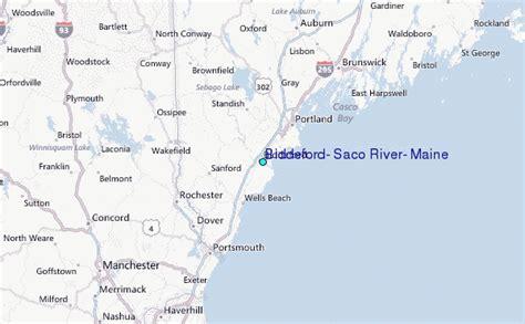 map of biddeford maine biddeford saco river maine tide station location guide