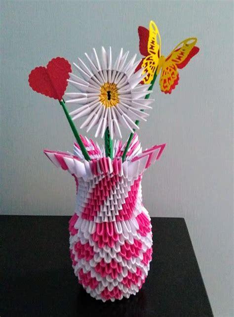 florero origami 3d paso a paso origami 3d florero