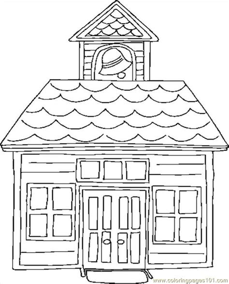 free coloring pages of school houses coloring pages school house education gt school free