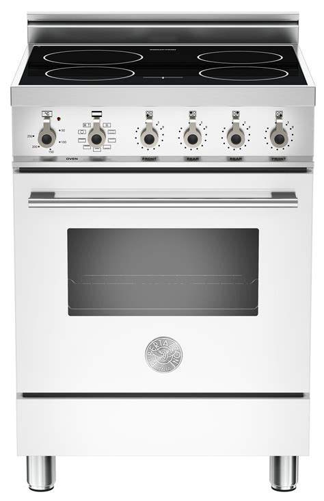 induction cookers 60cm bertazzoni x60indmfebi 60cm professional induction range cooker white