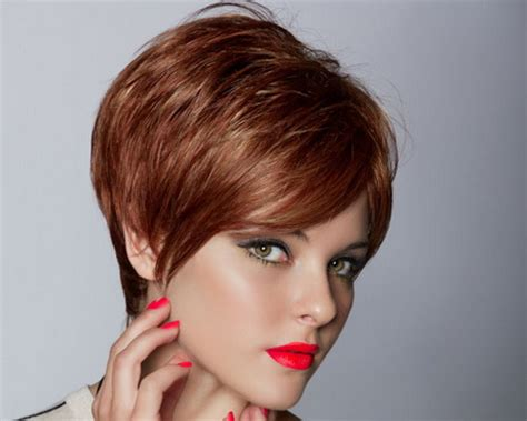 red short cropped hairstyles over 50 short sleek hairstyles for women