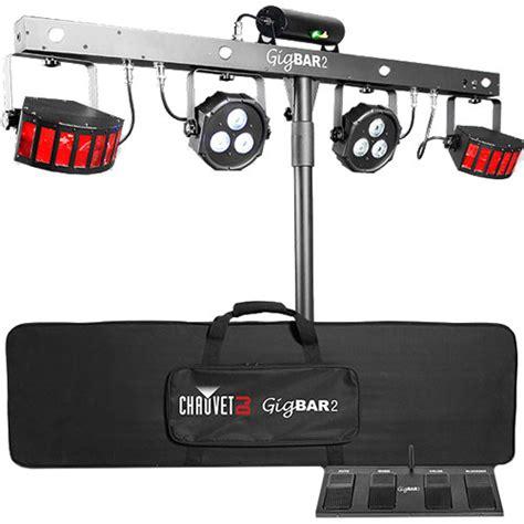 Chauvet Dj Gigbar 2 All In One Lighting System Gigbar2 B H