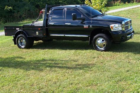 pic of bed pics of truck with new flat bed on it dodge diesel