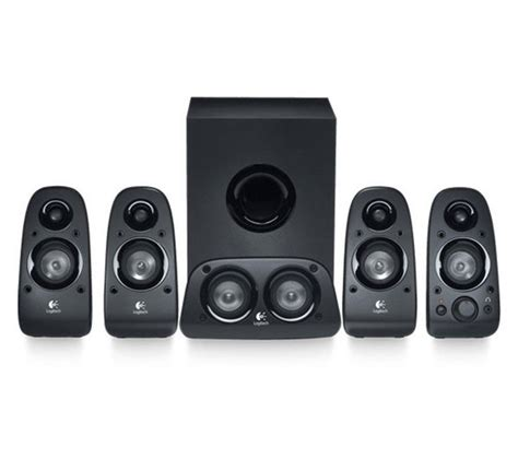 Speaker Logitech 5 1 Z506 Terlaris logitech z506 5 1 pc speakers deals pc world