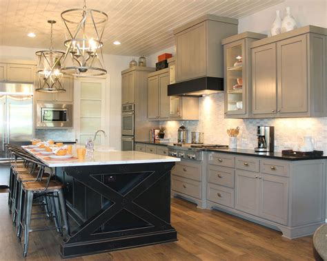 kitchen island different color than cabinets kitchen cabinets contrasting color frame and doors
