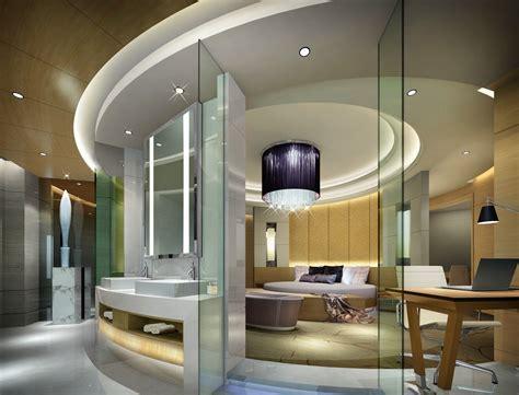 Luxurious Circular Bedroom Design