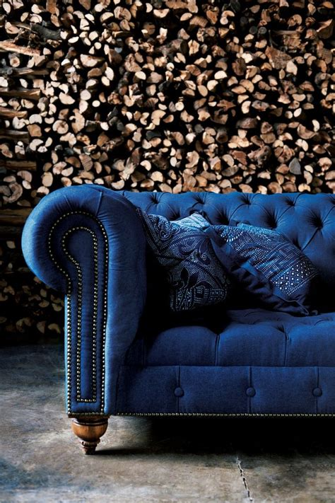 blue velvet sofa bed classic english chesterfield tufted sofa from rl home in