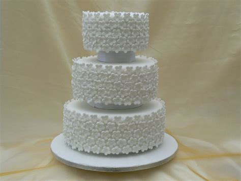 3 tier wedding cake images three tier wedding cake with blossoms by cakes of