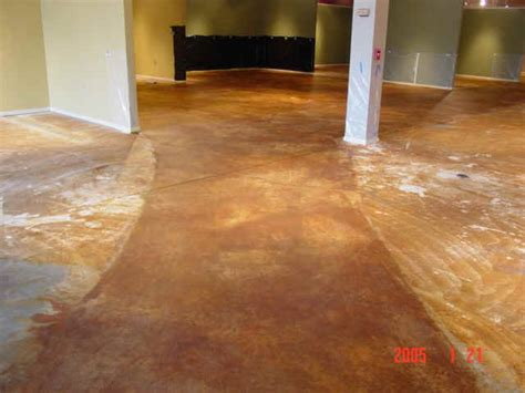Acid Stained Concrete, furniture store pg2