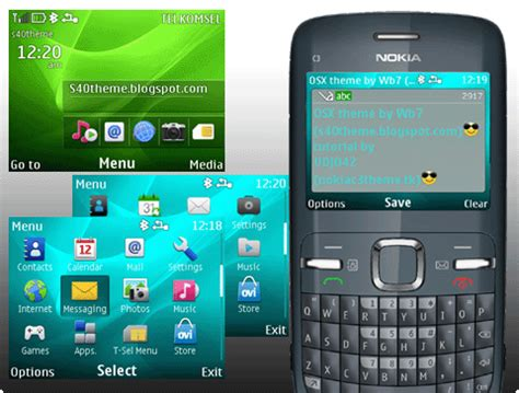 Theme Maker Nokia C3 | theme creator for nokia c3