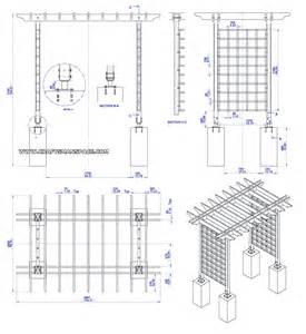 Wood Trellis Plans wooden trellis arbor plan subassembly list wooden trellis arbor plan