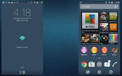 themes apk xperia install xperia palatial theme flat systemui