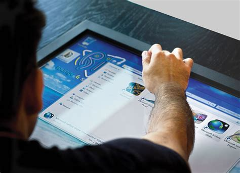 A Coffee Table That Is Also A 32 Inch Touchscreen Coffee Table Touch Screen Computer