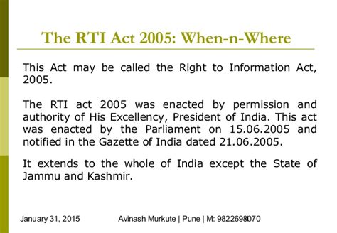 Essay On Right To Information Act And Its Fallout by Essay On Right To Information Act