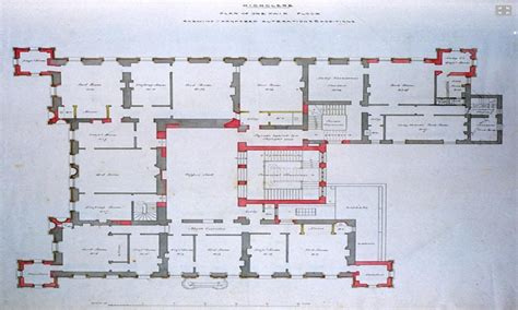Mansion Floorplans by Highclere Castle Interiors Highclere Castle Floor Plan