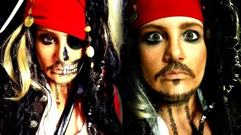 tutorial makeup jack sparrow pirates of the caribbean jack sparrow makeup
