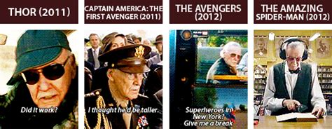 marvel films without stan lee every stan lee film cameo in delicious gif form gamezone