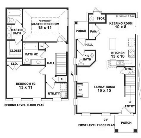 small colonial house plans