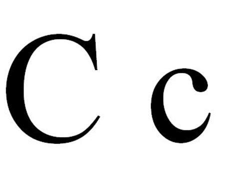 Big Letter C
