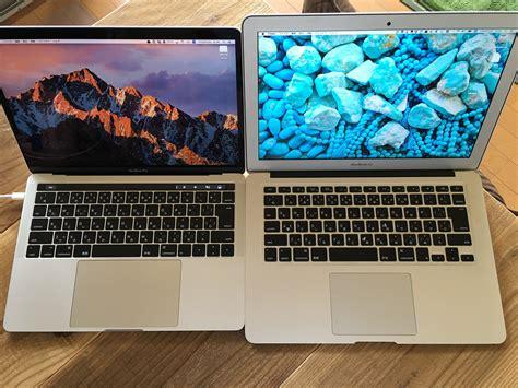 Macbook Air Vs Macbook Pro macbook pro late2016 13inch vs macbook air mid 2012 13 flickr