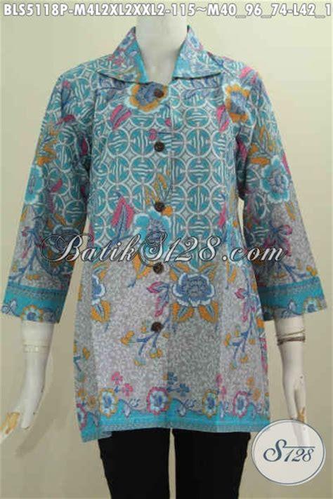 desain baju kerah online baju blus batik istimewa desain kerah kotak pakaian batik