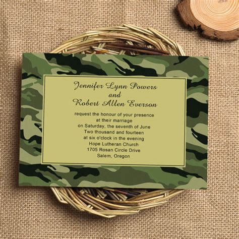 realtree camo wedding invitations 42 cool camo wedding ideas for country style enthusiasts