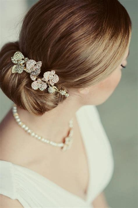Vintage Inspired Wedding Hair Combs by Vintage Inspired Wedding Comb Floral