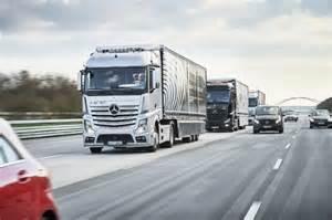 Www Mercedes Ca Careers Report Driverless Trucks Will Cut Costs Millions Of