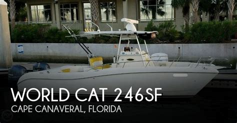 world cat boat dealers florida for sale used 1999 world cat 246sf in cocoa florida