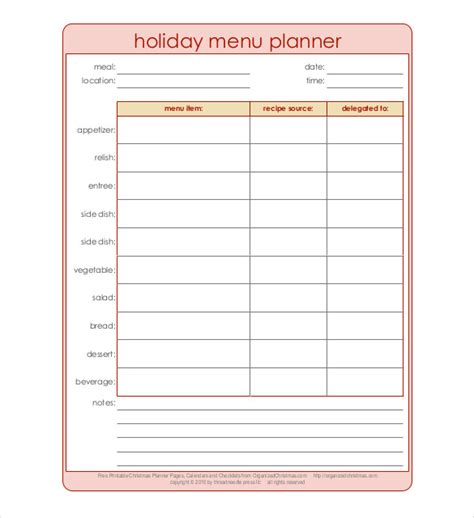 editable menu planner template editable menu planner template 28 images editable meal