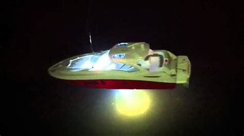 led boat loading lights rc boat with led lights youtube