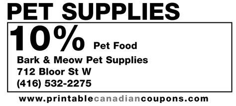 printable pet food coupons canada pet food free printable discount canadian coupons toronto