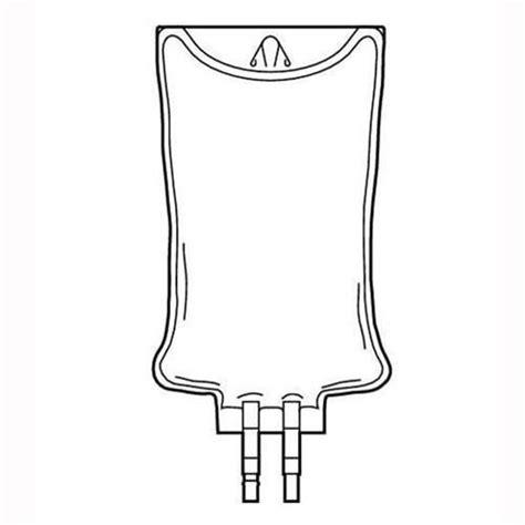 container empty iv bag intravia pvc ports non dehp