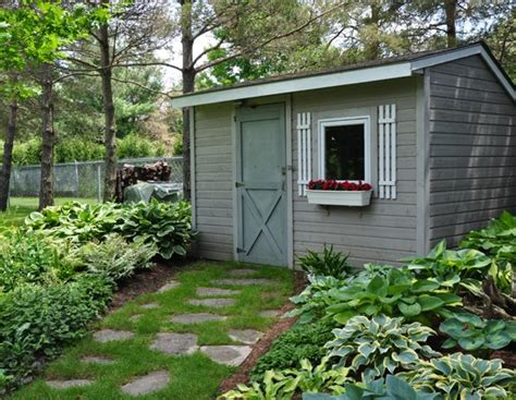 Shady Sheds by Shade Gardening How To Use Hostas To Best Advantage