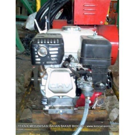 Mesin Welding mesin las welder genset bahan bakar biogas