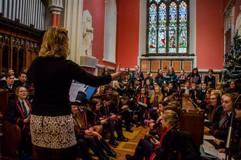 standing room standing room only and a standing ovation at enniskillen royal grammar school s inaugural carol