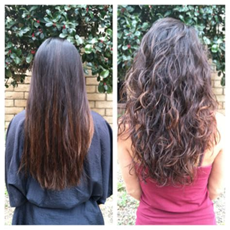 before and after photos of permant waves with frizzy hair hair salon tustin photos