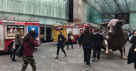 Cq Live Birmingham Hm Bullring Centre by Bullring Live Updates As Firefighters To