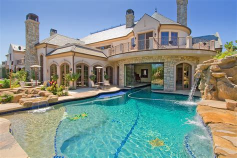 big houses with pools dream house with pool