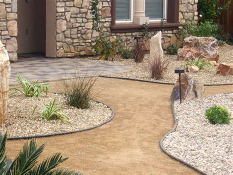 Landscaping block ideas, decomposed granite patio rock and