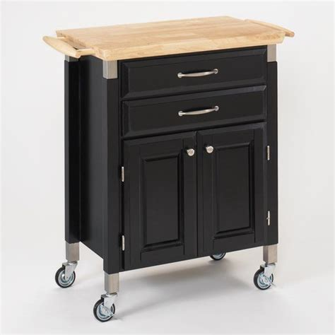 dolly madison kitchen island cart dolly madison prep and serve kitchen cart modern