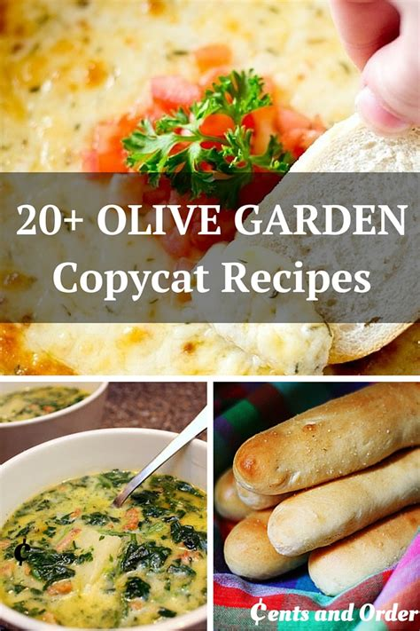 Home Garden Recipes by 20 Olive Garden Copycat Recipes