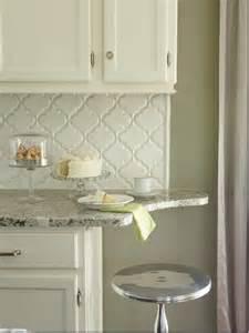 arabesque tile backsplash what makes kitchen design the house that a m built