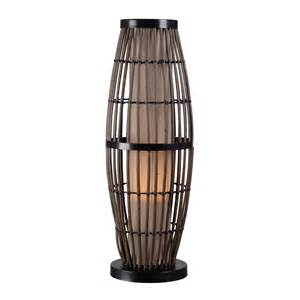 Home Depot Kitchen Faucets On Sale outdoor table lamp with rattan cage and tan shade