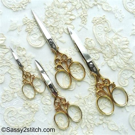 solingen embroidery scissors wasa solingen 3 1 2 filigree embroidery scissors gold
