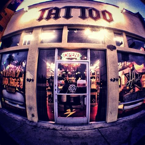 high voltage tattoo shop top ten s of all 20 looking in memory of designs
