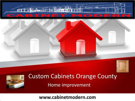 custom cabinets orange county ppt custom cabinets orange county powerpoint
