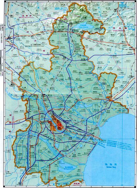 tianjin china map tianjin map map of tianjin china tianjin city tourist map